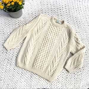 Quill's Woollen Market Ireland Hand Knit Sweater